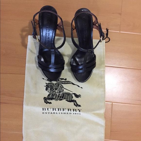 Leather Platform Sandals   Poshmark